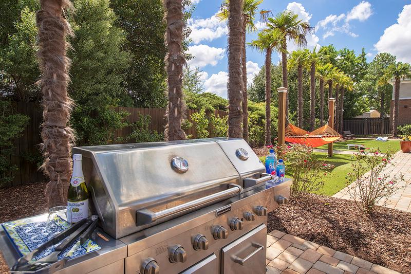 BBQ Grill | Have a cookout by utilizing our gas grill located in the pool area.