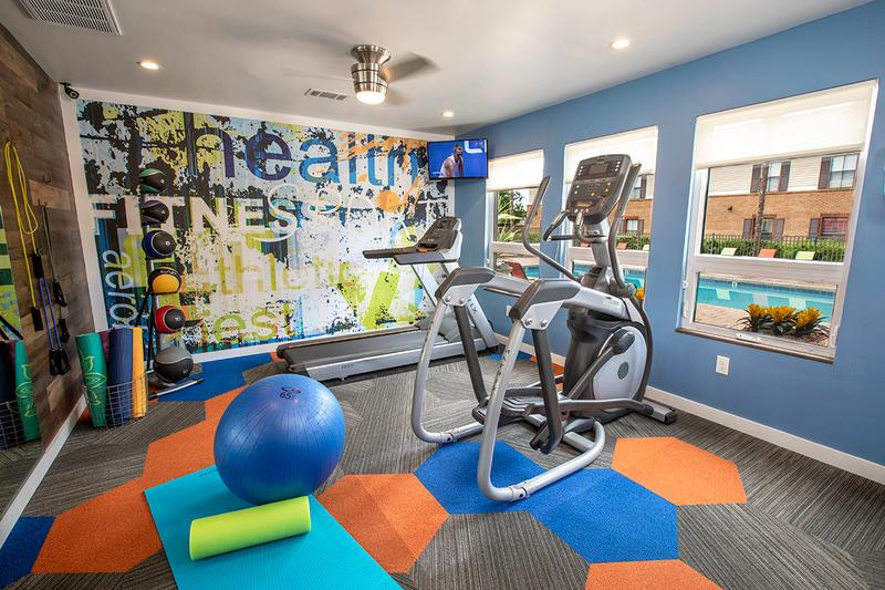 State-of-the-Art Fitness Center | Get an invigorating workout in our fully equipped fitness center.