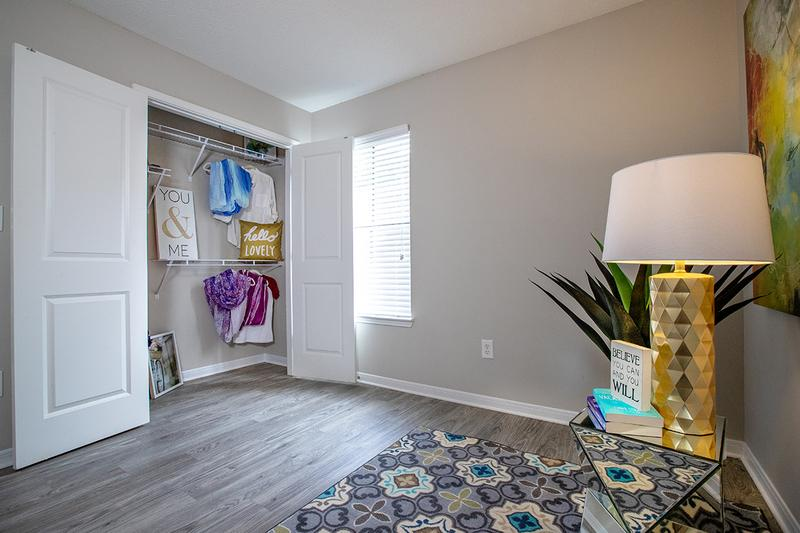 Closet | All bedrooms feature closets with built-in organizers.