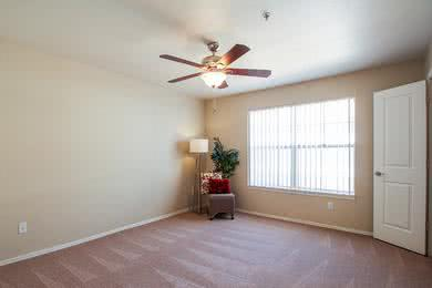 Ceiling Fans | Our bedrooms feature ceiling fans.