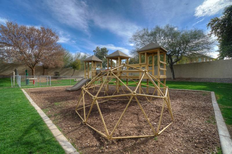 Playground | At Sedona Peaks, we cater to everyone and also offer a large playground on property!