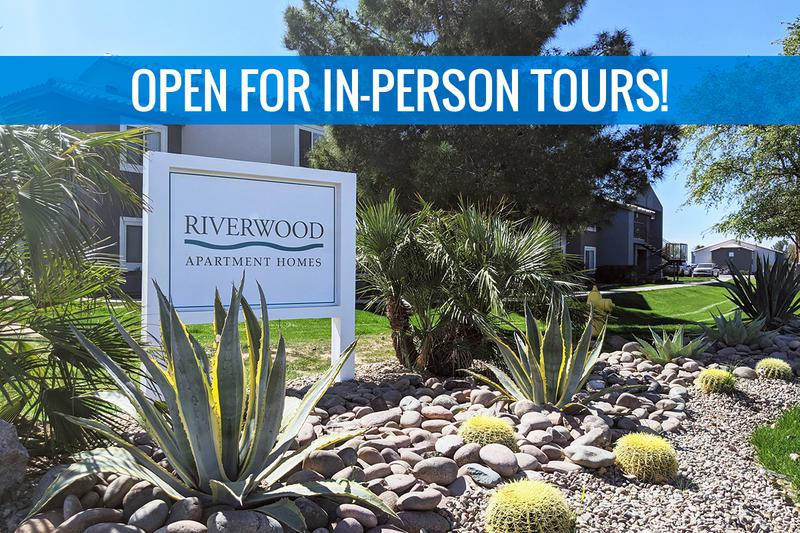 Welcome Home to Riverwood | Welcome home to Buckeye Arizona's best-kept secret, Riverwood Apartment Homes. We are excited to offer in-person tours while following social distancing and we encourage all visitors to wear a face covering.