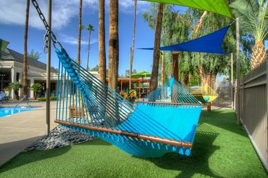 Hammocks | Lay out on one of our hammocks and soak in the sun.