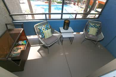 Screened-In Patios | Enjoy the outdoors from the privacy of your very own screened-in patio.
