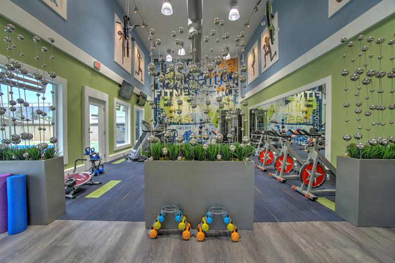 Fitness Center | Brand new, state-of-the-art fitness center.