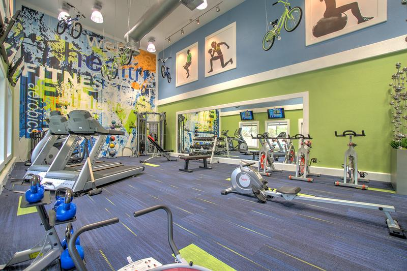 Fitness Center | Get fit in the resident fitness center.