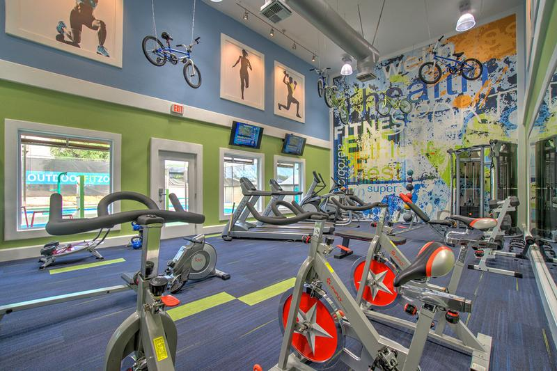 Fitness Center | Our fitness center features all the weight training and cardio equipment you need for a full body workout.