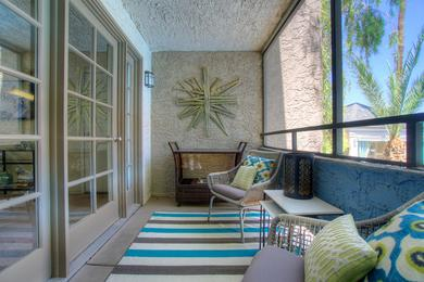 Screened-In Patio | You can enjoy the outdoors from your private patio.