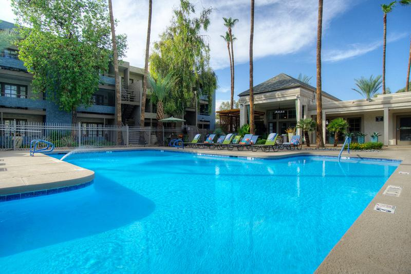 Sparkling Swimming Pool | Escape the Arizona heat in our sparkling swimming pool.