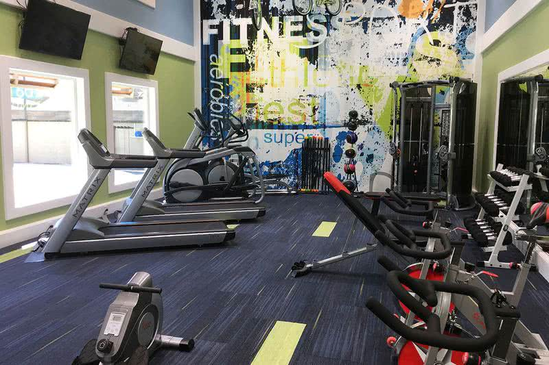 24-Hour Fitness Center | Our resident Fitness Center is open 24-hours a day for your convenience.