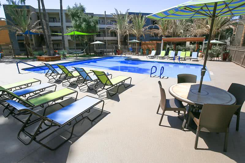Resort Style Pool & Spa | Take a dip in our resort-style pool to escape the Arizona heat.