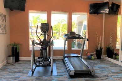 Fitness Center | Come get fit in our resident fitness center.