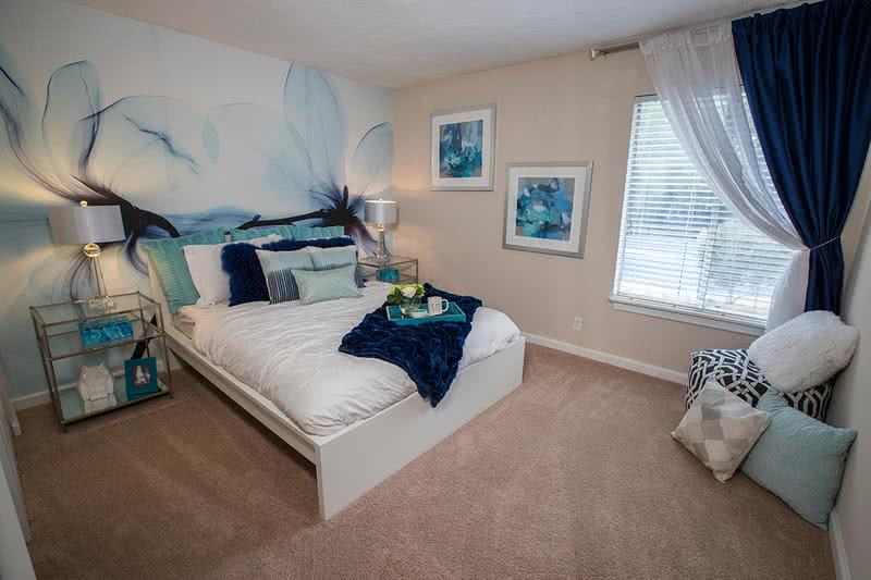 Oversized Bedrooms | With lots of open wall space, you will love decorating your new bedroom here at Exchange on the 8.