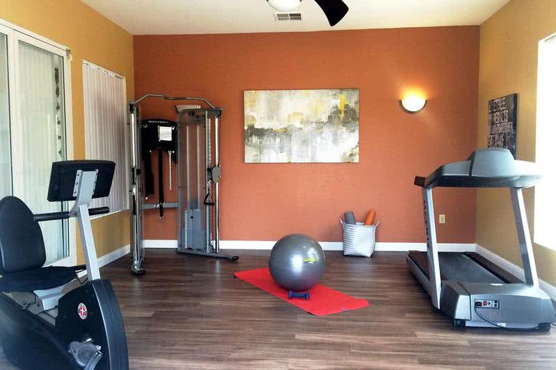 Fitness Center | Residents have access to our newly remodeled, state-of-the-art fitness center located in our clubhouse.