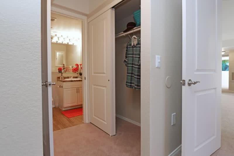 Expansive Closet Space | You will enjoy the expansive closet space offered in our apartment homes.