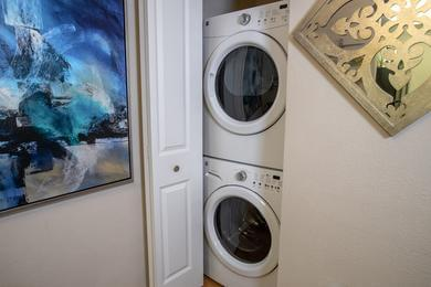 Washer and Dryer | Apartments homes are complete with full size washer and dryer appliances.