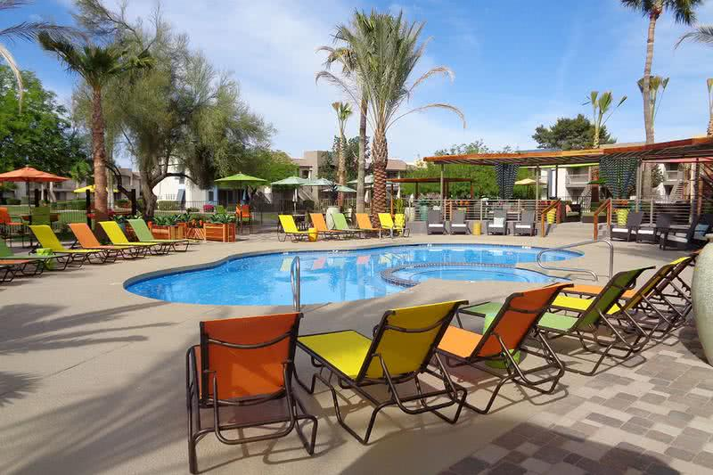 Resort-Style Pool | Escape the Arizona heat in our resort-style swimming pool.