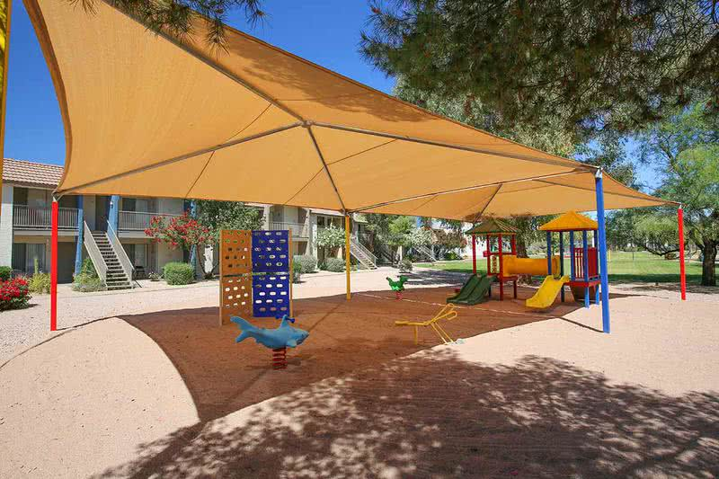 Playground | The kids will enjoy the large playground on-site.