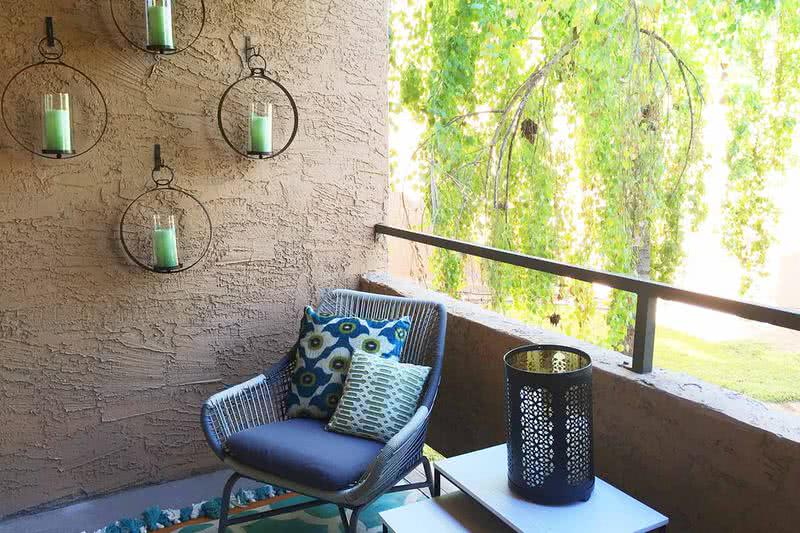Private Patio | Enjoy the outdoors from our private patio.