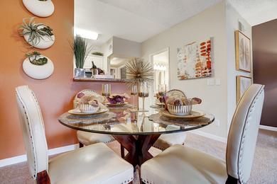 Dining Area | Enjoy having a separate dining area overlooking the kitchen and living room.