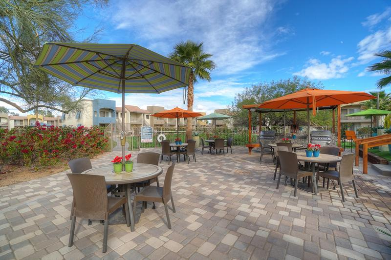 Friends and Family Welcome | Bring your friends and family down to our outdoor kitchen for a cookout by the pool.