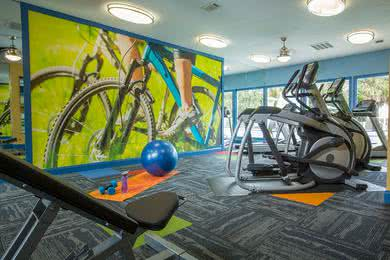 Fitness Center | Get fit whenever you want at our 24-hour fitness center.