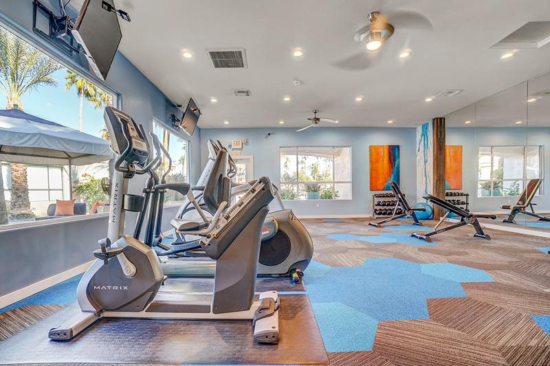 24-Hour Fitness Center | Our fitness center is open 24-hour a day, so get in your workout at a time that's convenient for you!