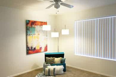 Ceiling Fans | Bedrooms featuring ceiling fans.