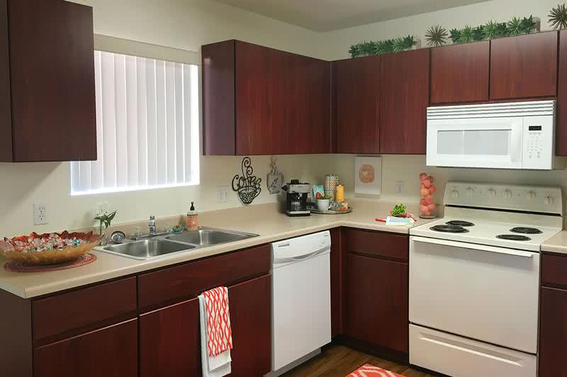 Kitchen | Spacious, open kitchens with ample cabinet space.
