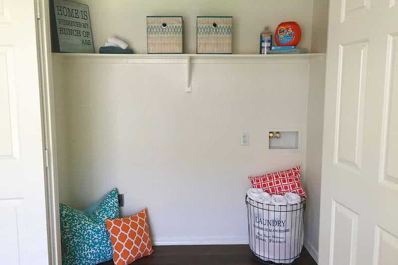 Laundry Connections | All of our apartment homes at Rancho Del Sol include washer and dryer connections.