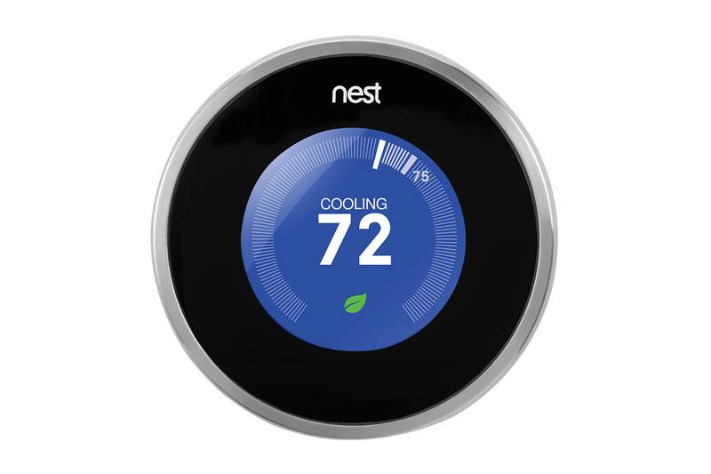 NEST Thermostats* | Enjoy smart technology that allows you to adjust your thermostat from your phone and reduces electric bills by an average of 10%-12%