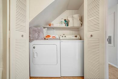 Full Size Washer & Dryer | All apartment homes are complete with a full size washer & dryer.