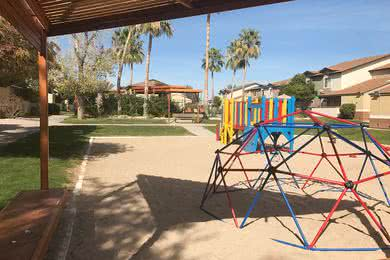 Playground | Bring the kids to our on-site playground for some fun.