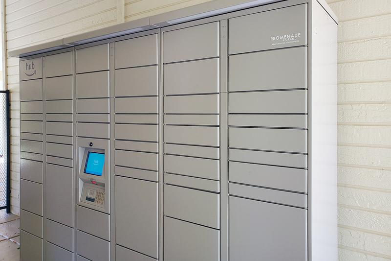 Amazon Hub Package Lockers | Retrieving your packages just got easier with our Amazon hub package lockers!