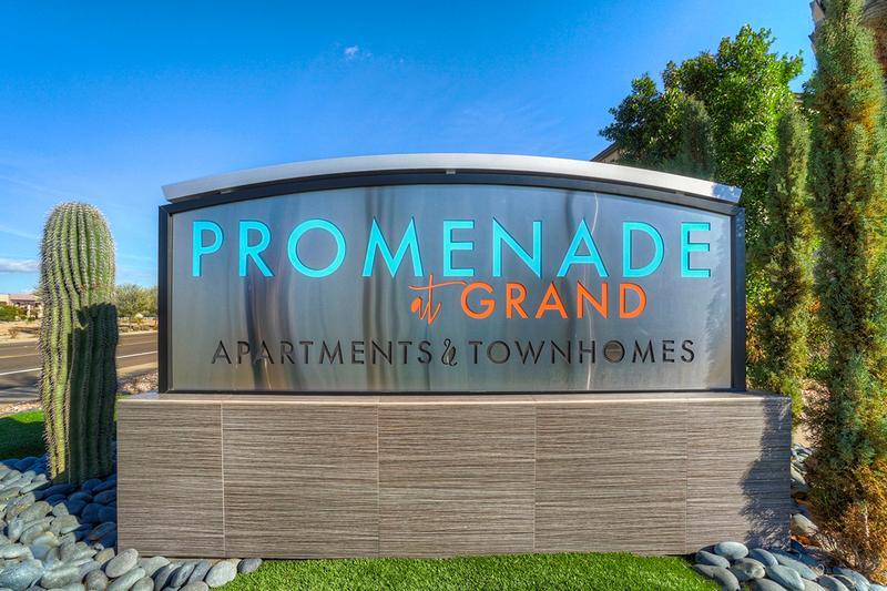 Welcome to Promenade at Grand | Enjoy modern, luxury living conveniently located in Surprise, Arizona.