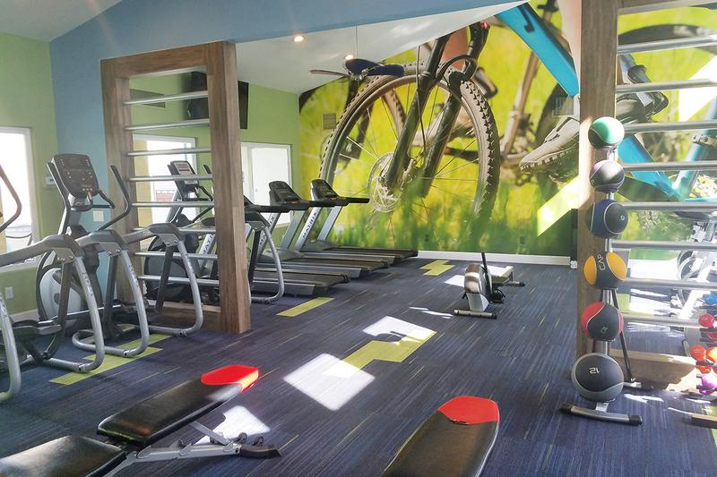 Fitness Center | Get a workout any time of the day at our 24-hour fitness center.