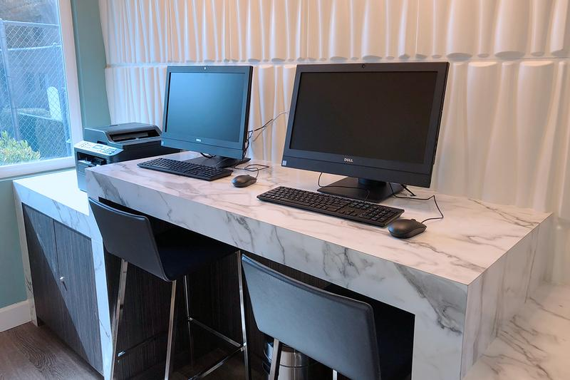 Resident Business Center | Residents have the convenience of using our business center featuring high speed internet and printing.