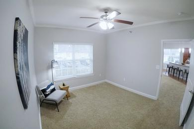 Guest Bedroom | Spacious bedrooms featuring a multi-speed ceiling fan, and spacious closets.