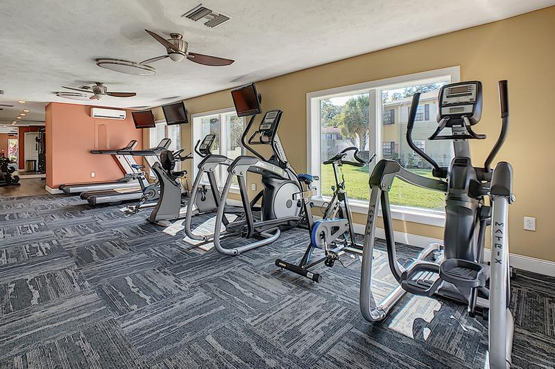 Fitness Center | Get fit in our fitness center featuring cardio and weight training equipment. (Updates Coming Soon)