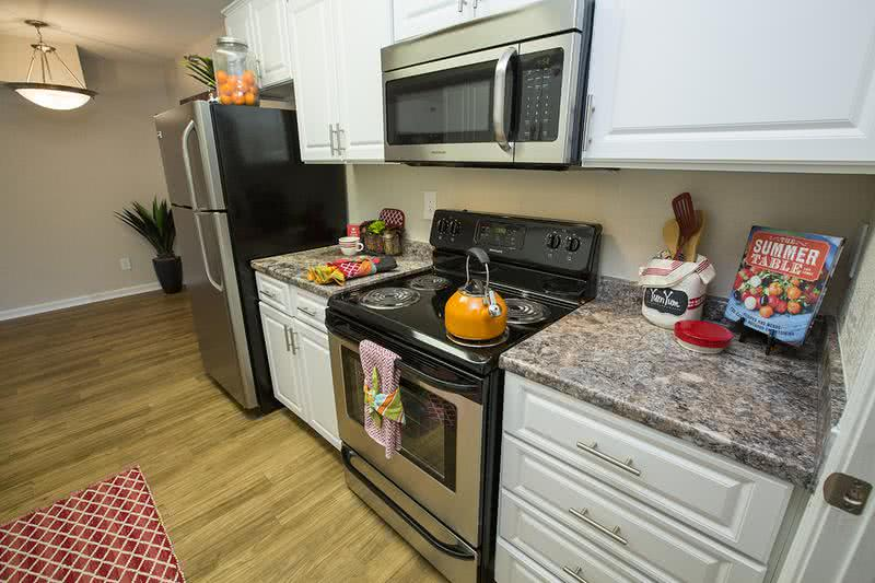 Stainless Steel Appliances | Kitchens with stainless steel appliances are available, ask about upgrading today!