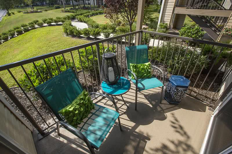 Private Patio | All of our apartment homes feature a private patio or balcony.