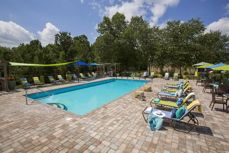Expansive Sundeck | Lay out on our expansive sundeck featuring plenty of poolside loungers.