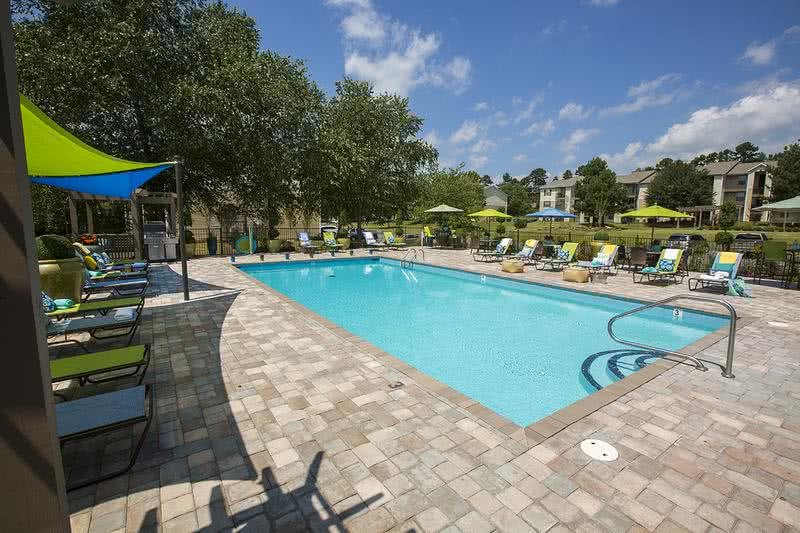 Resort-Style Pool | Take a dip in our swimming pool or relax on our expansive sundeck.