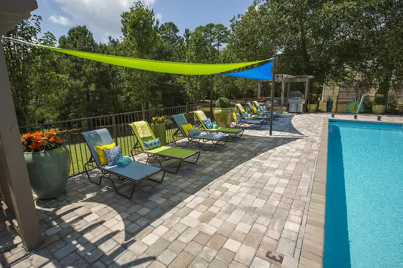 Sundeck with Grill | While enjoying a relaxing time in the sun, utilize our grill and have a poolside cookout!