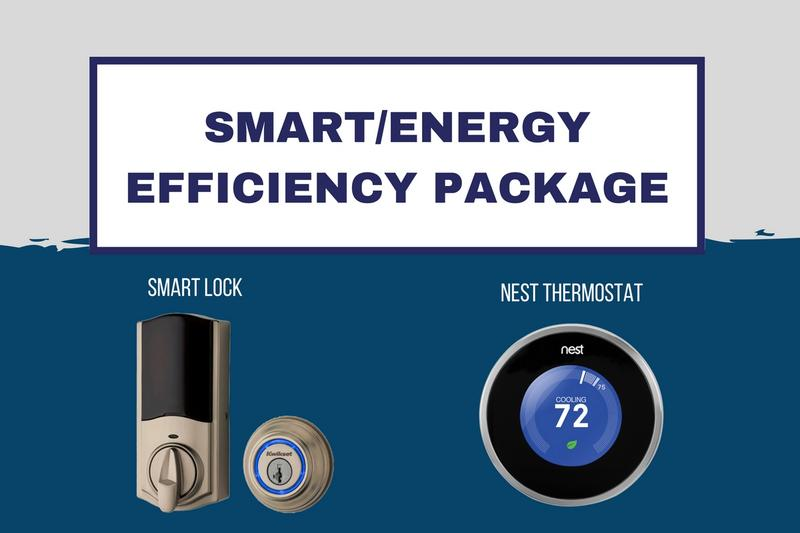 Energy Efficient Package* | Remote Entry and Access along with Temperature Control that reduces electric bills by 10%-12% and provides peace of mind and ease at your fingertips.