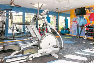 Fitness Center | Get in a workout any time of the day at our 24-hour fitness center.