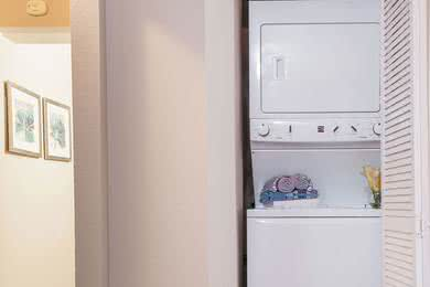 Washer & Dryer  | All of our apartment homes feature a full size washer and dryer for your convenience.