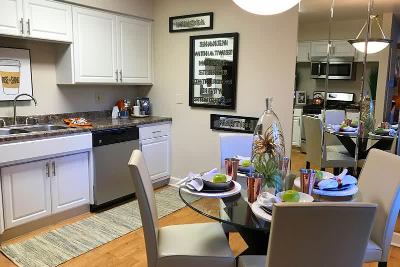 Eat-In Kitchen | Spacious kitchens with plenty of room for a kitchen table.