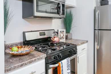 Stainless Steel Appliances | Newly remodeled kitchens with updated cabinetry and stainless steel appliances.