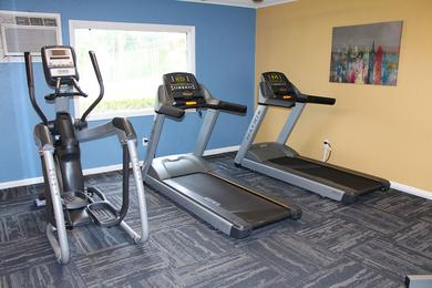 Fitness Center | Get your workout done any time of day at our 24-hour fitness center.